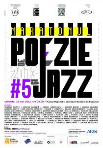 Afis Maratonul de Poezie si Jazz 2013 (1)